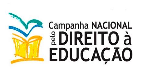 CAMPANHA NACIONAL PELO DIREITO À EDUCAÇÃO (Foto: Divulgação)
