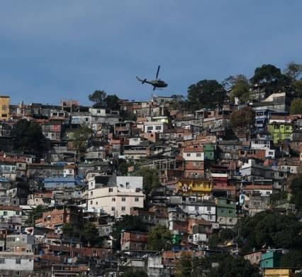 Favela da Rocinha, na zona sul do Rio de Janeiro Imagem: Fernando Frazão/Agência Brasil