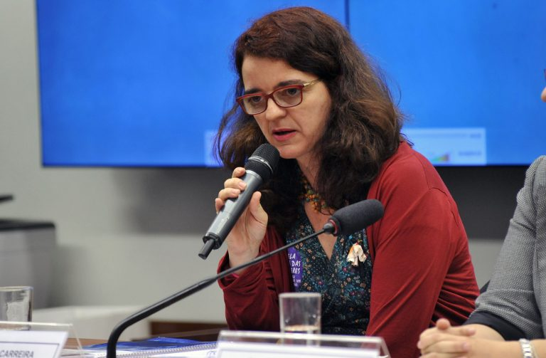 Denise Carreira: gasto público deve ser visto como fator de dinamização da economia (Foto: Lúcio Bernardo Jr./Câmara dos Deputados)