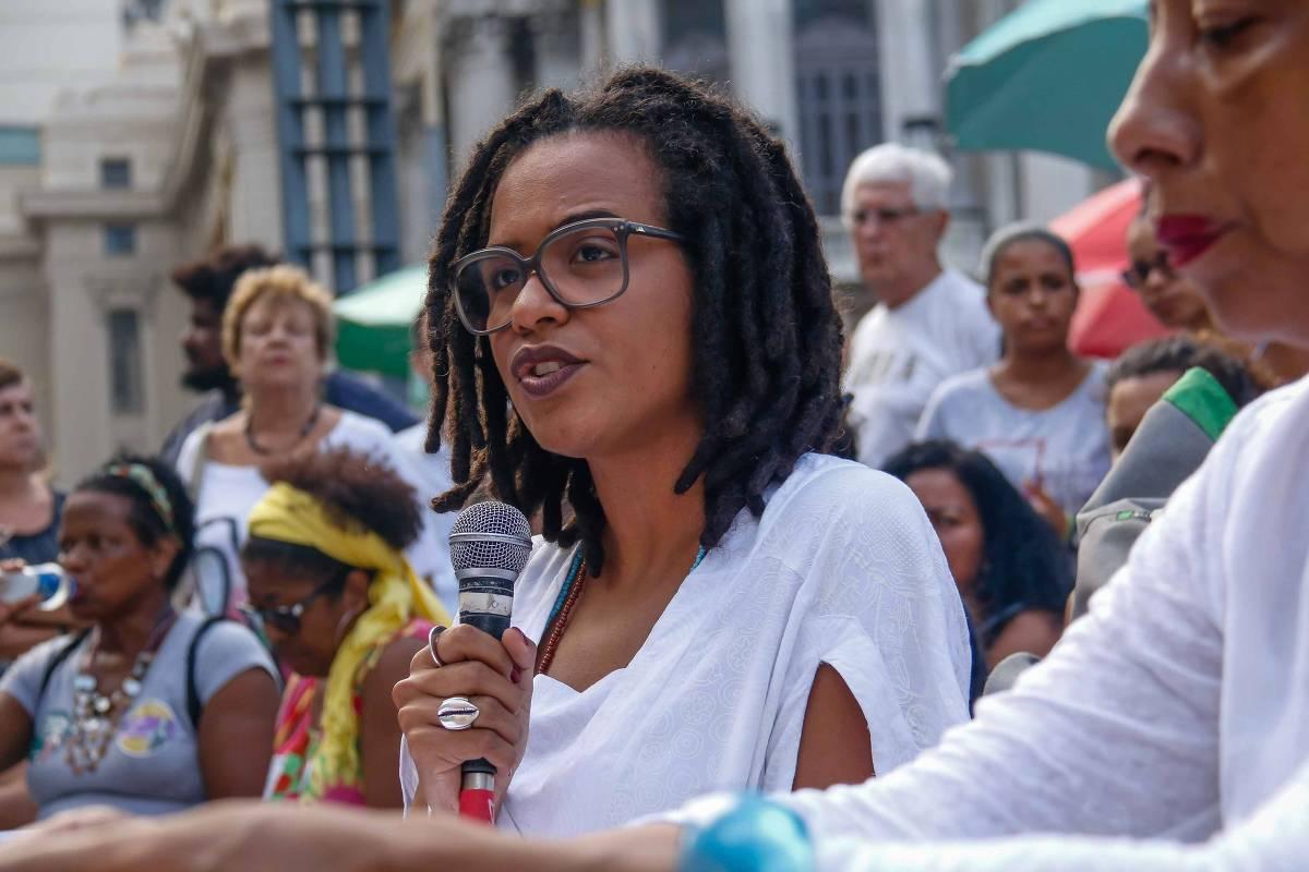 Thula Pires (Foto: André Melo Andrade/Folha de S.Paulo )