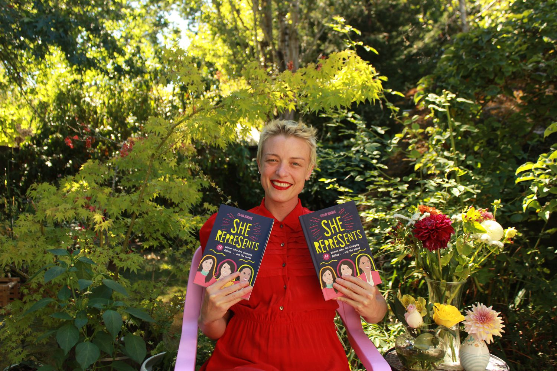 A escritora e jornalista Caitlin Donohue, autora do livro 'She represents', na Cidade do México.BARBARA BYRD