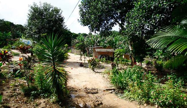 Comunidade quilombola Rio dos Macacos (Foto: Fernando Vivas/Ag. A Tarde)