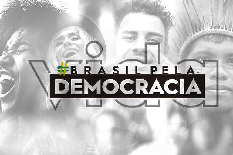 Lançada no final de junho, campanha Brasil pela Democracia reúne 80 entidades e tem coordenado ações online e offline em todo o país - Facebook/Reprodução