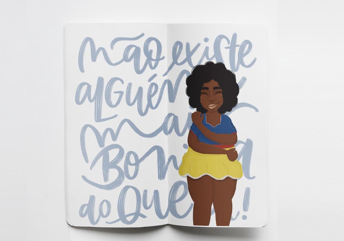 """Imagem do Livro """"Espelho Espelho Meu"""" – Ilustrações de Leandra Gonçalves"""