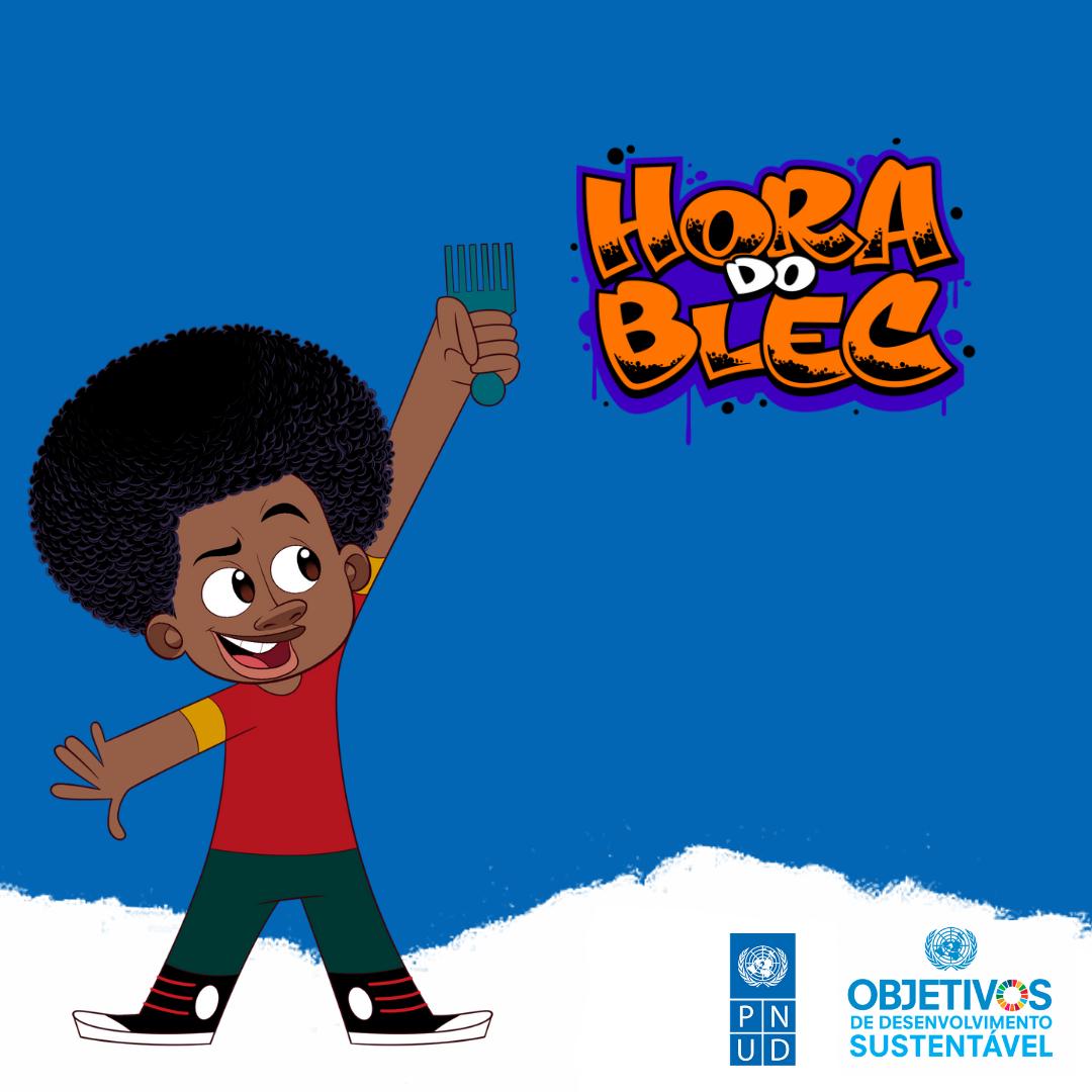 """""""Hora do Blec"""" é uma série de vídeos musicais destinada, principalmente, ao público na primeira infância, com temas inspirados nos Objetivos de Desenvolvimento Sustentável. Foto: PNUD"""