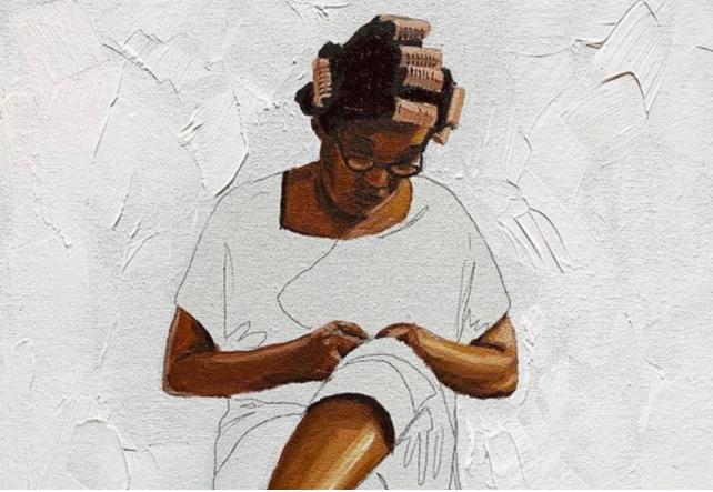 Pintura do artista plástico Robinho Santana.DIVULGAÇÃO/ROBINHO SANTANA