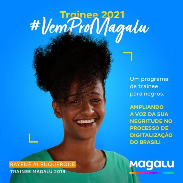 Iniciativa de promover programa de trainees exclusivo para negros gerou atritos entre magistrados da Justiça do Trabalho (Foto: Divulgação/ Magazine Luiza)