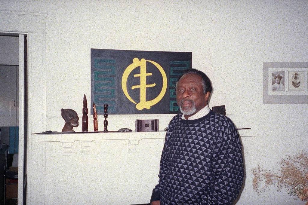 Anani Dzidzienyo, 57, historiador ganês, professor da Universidade de Brown nos Estados Unidos (Fotos: Fabiano Maisonnave/Folhapress)