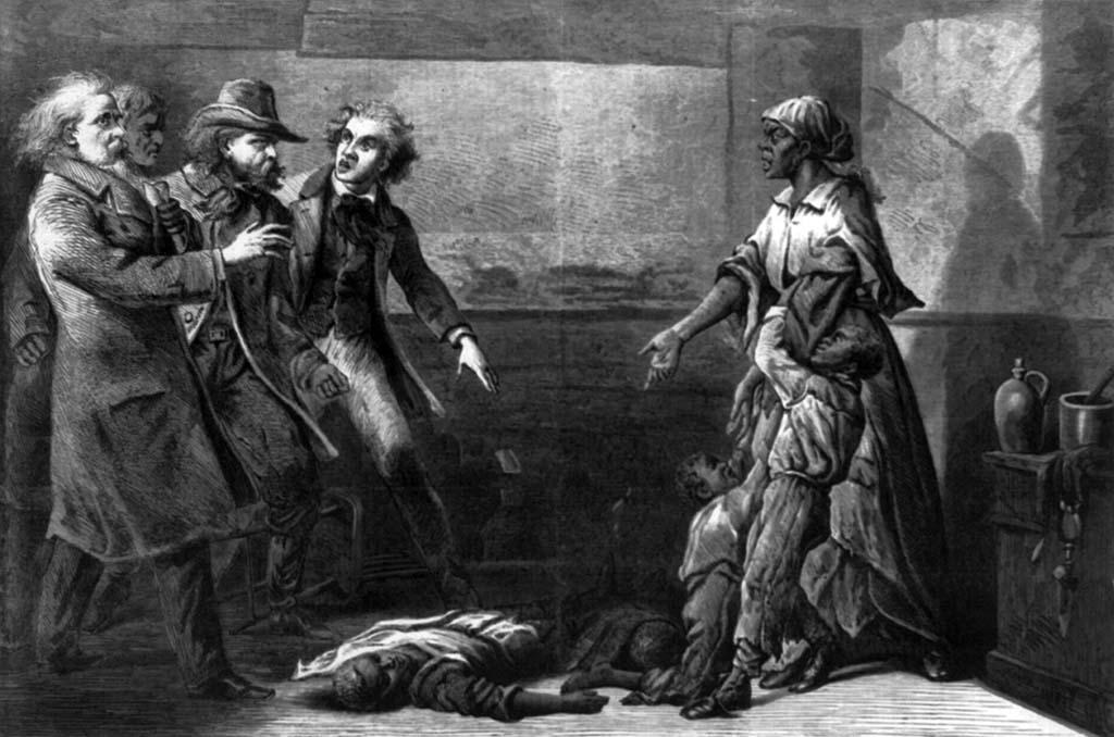 The Modern Medea - A história de Margaret Garner , Harper's Weekly , 18 de maio de 1867, p. 308 Cortesia da Biblioteca do Congresso dos EUA (LCCN99614263)/Blackpast.org/