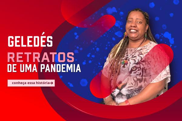 Retratos de uma Pandemia - Amanda