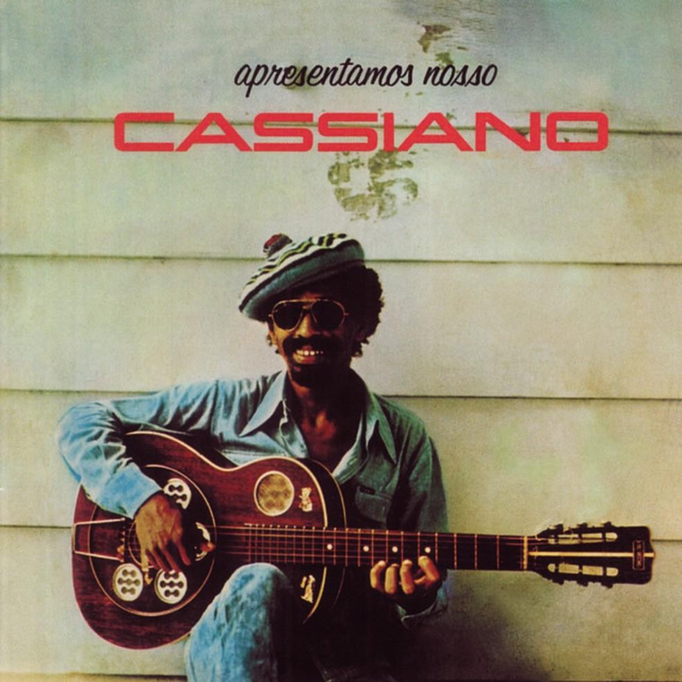 Capa do álbum 'Apresentamos nosso Cassiano', de Cassiano — Foto: Reprodução