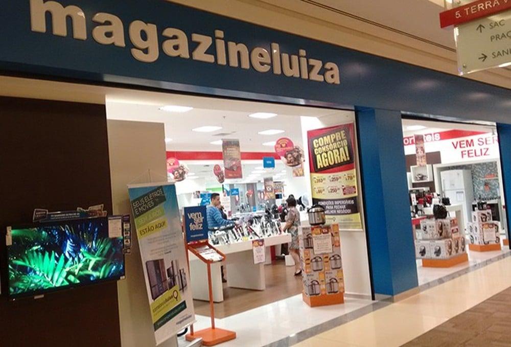 Unidade do Magazine Luiza no Ribeirão Shopping — Imagem retirada do site G1