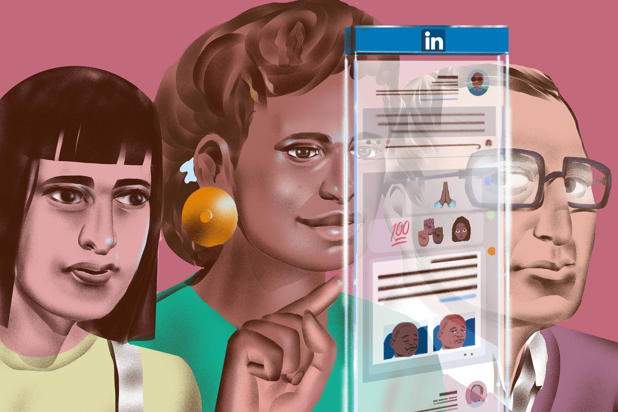 O tom da rede social há muito reflete a América corporativa: sóbrio, monolítico, branco. Agora, os usuários negros estão se manifestando —e dizendo que o site está limitando sua voz - Richard A. Chance/The New York Times