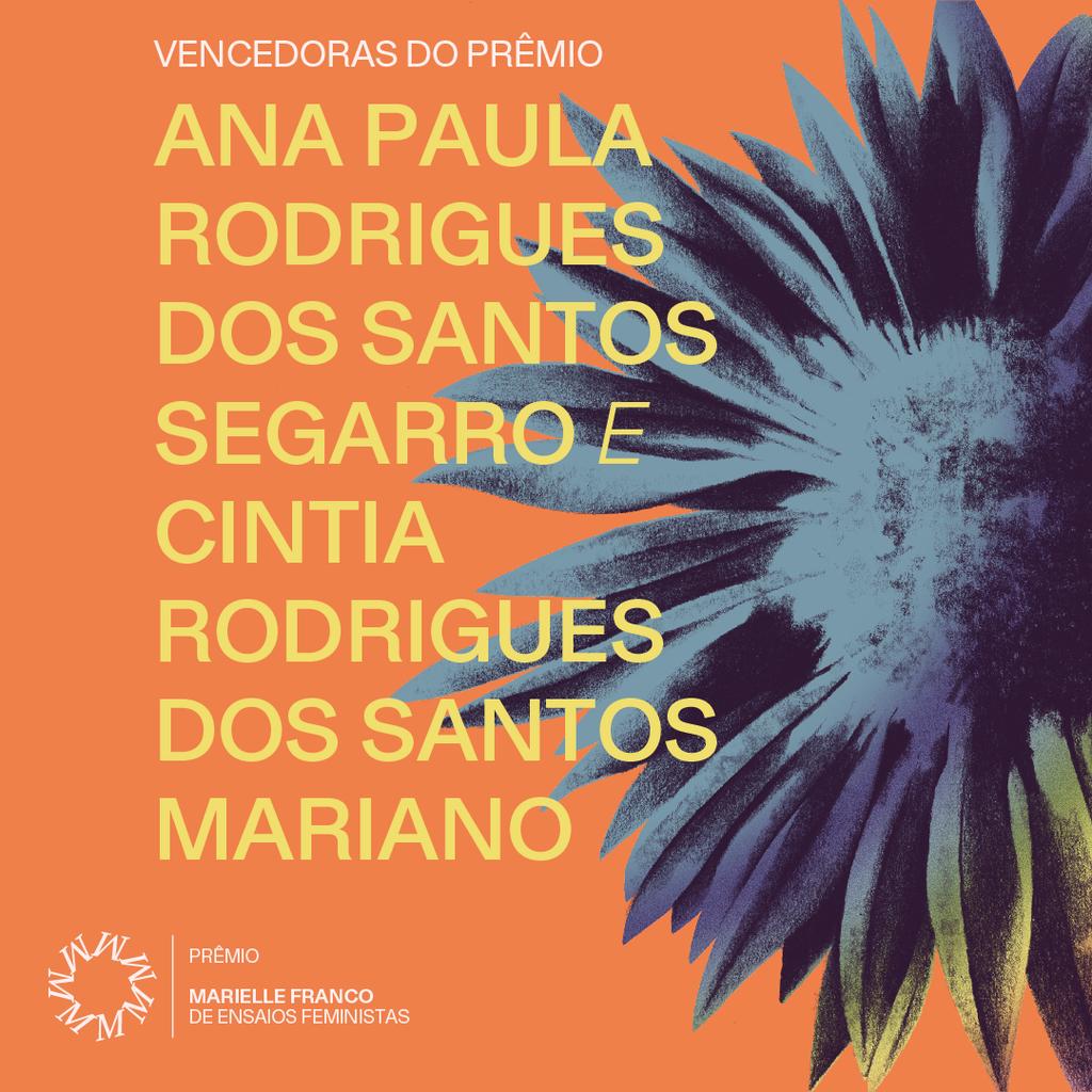 (Foto: Divulgação/ Prêmio Marielle Franco de Ensaios Feministas)