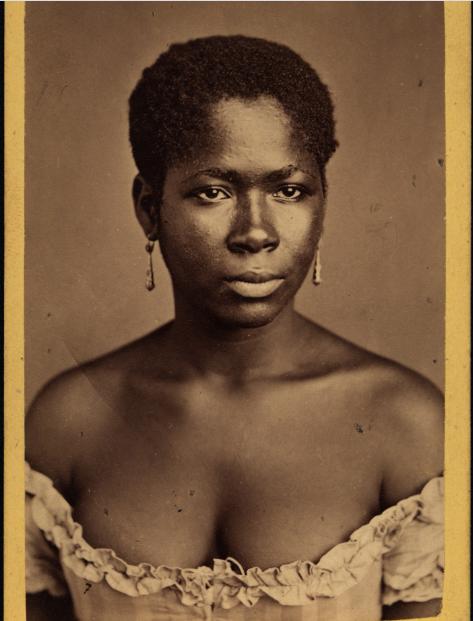 (Foto: Alberto Henschel. Negra de Pernambuco, c. 1869. Recife, Pernambuco / Convênio Instituto Moreira Salles –Leibniz-Institut für Länderkunde)