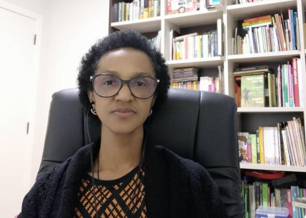 Ana Lúcia Martins é a primeira vereadora negra eleita em Joinville (Foto: Redes sociais/Reprodução)