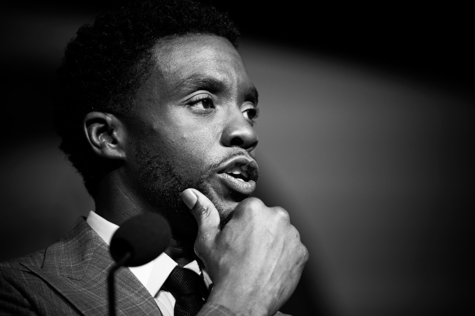 Chadwick Boseman - May/NurPhoto via Getty Images) (Cheriss May/NurPhoto via Getty Images)/Reprodução