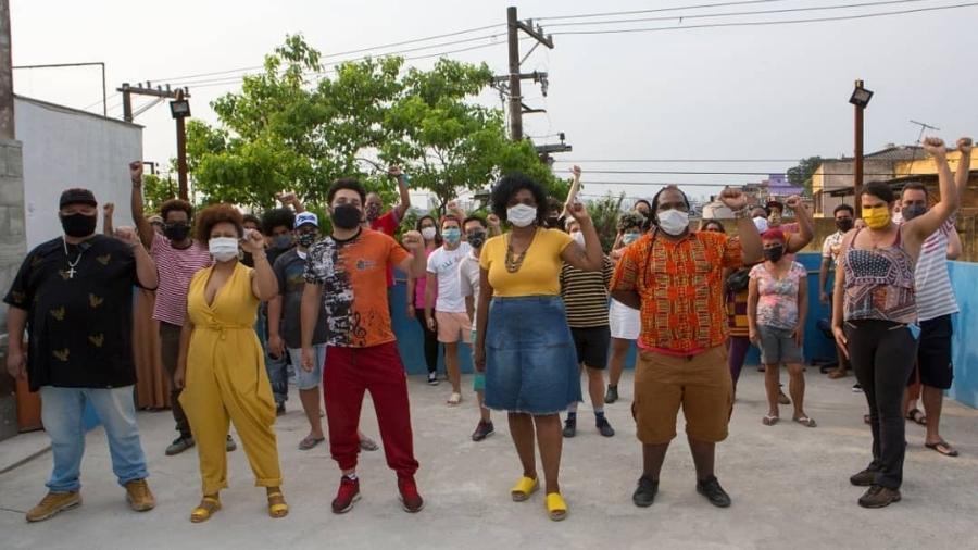 Integrantes do mandato coletivo Quilombo Periférico (Foto: Reprodução/Instagram)
