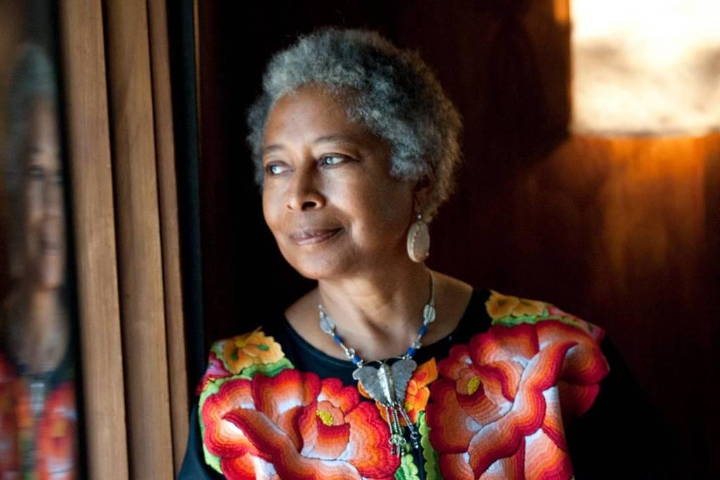 A escritora Alice Walker (Foto: Imagem rei=tirada do site Folha de S. Paulo)