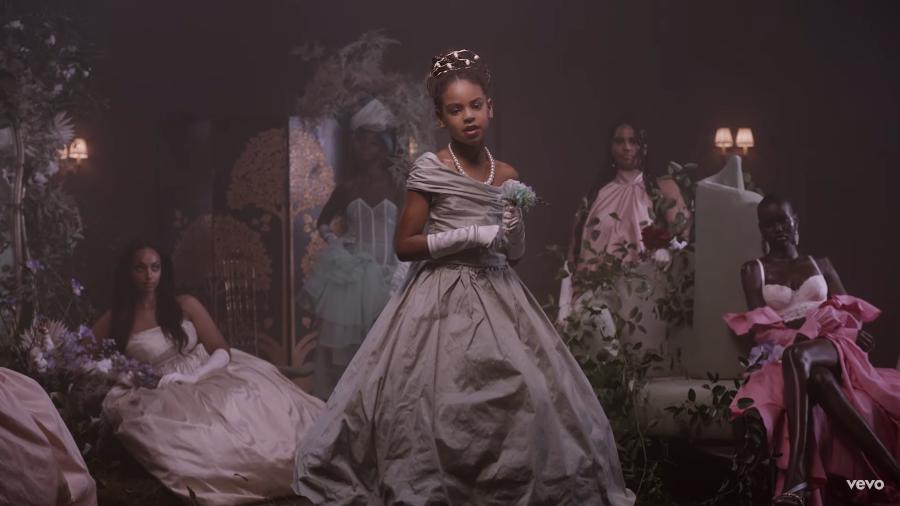 Blue Ivy brilha em clipe da mãe, Beyoncé Imagem: Reprodução/Youtube