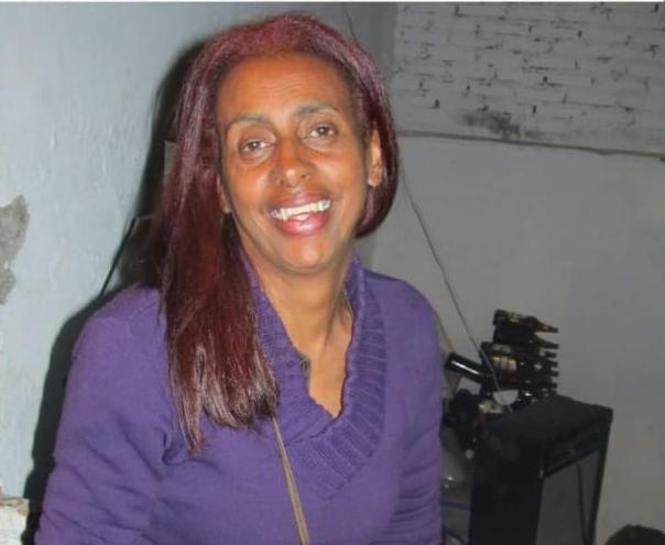 A ativista Jane Beatriz Silva Nunes (Imagem retirada do site Repórter Popular)