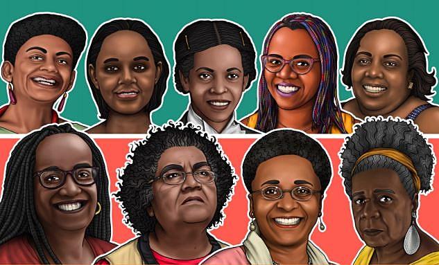 Pesquisadoras também produziram livreto em homenagem às profissionais que atuam no combate ao coronavírus - Ilustrações: Marcelo Jean Machado