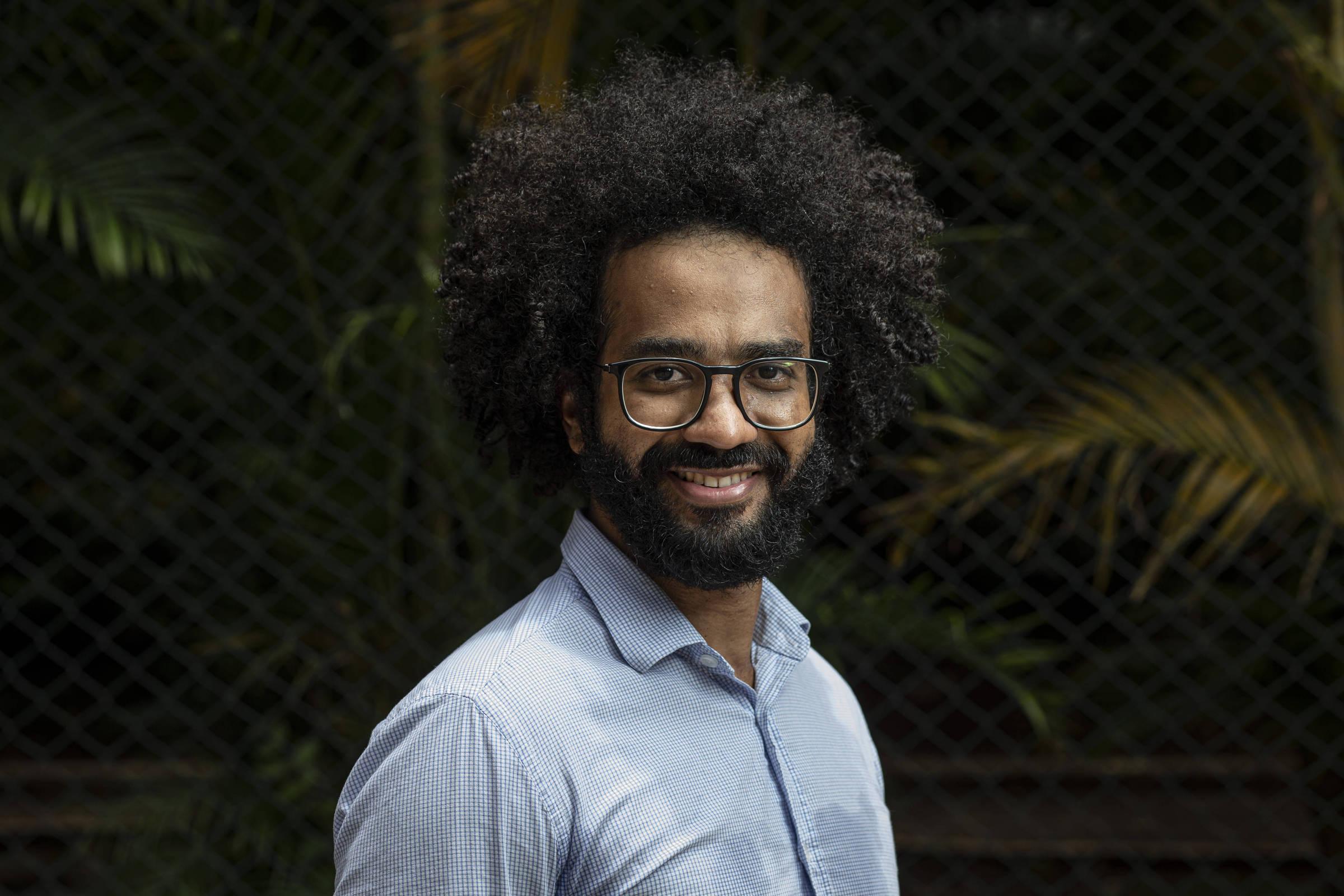 O economista Michael França - Foto: Bruno Santos/Folhapress