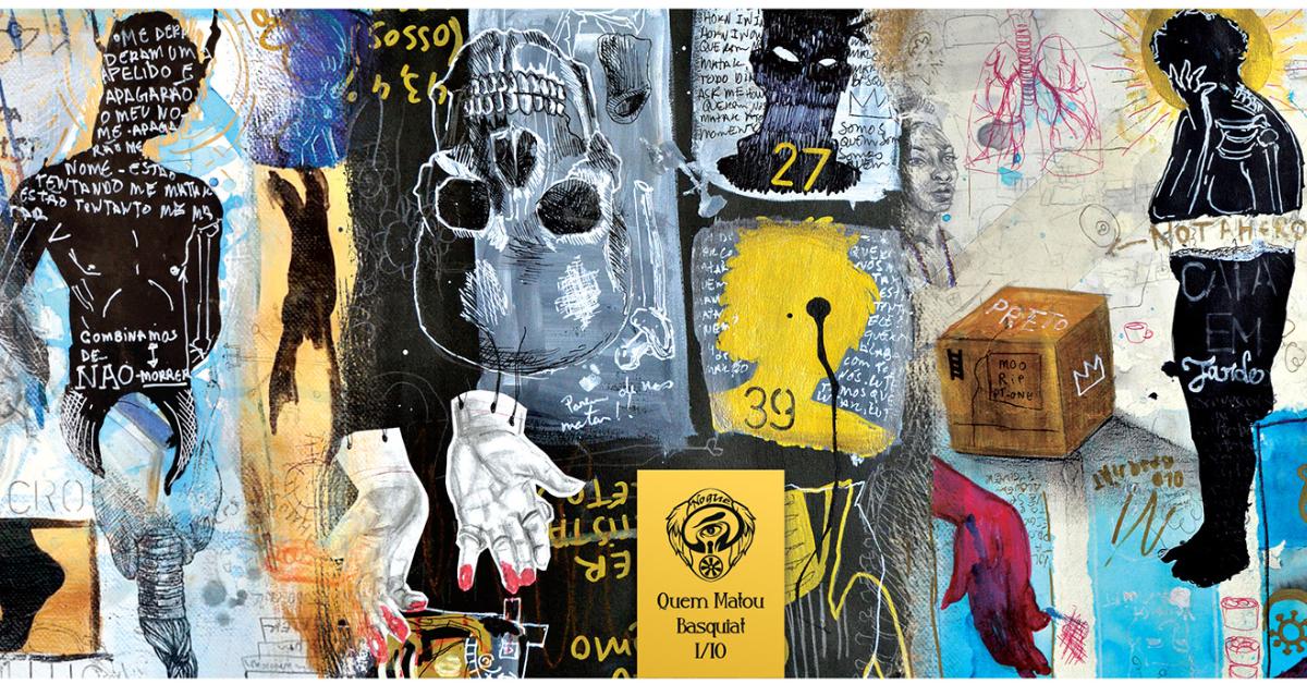 Imagem divulgação – Série Quem Matou Basquiat