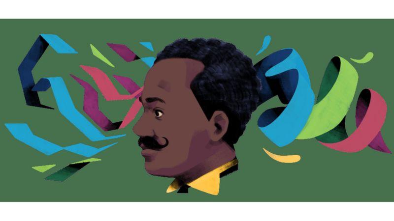 Homenagem feita pelo Google a Juliano Moreira no dia em que ele completaria 149 anos (Google)
