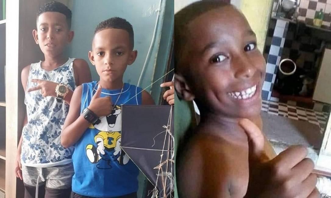 Alexandre, Lucas e Fernando Henrique foram vistos pela última vez no dia 27 de dezembro do no passado (Foto: Reprodução/Facebook)