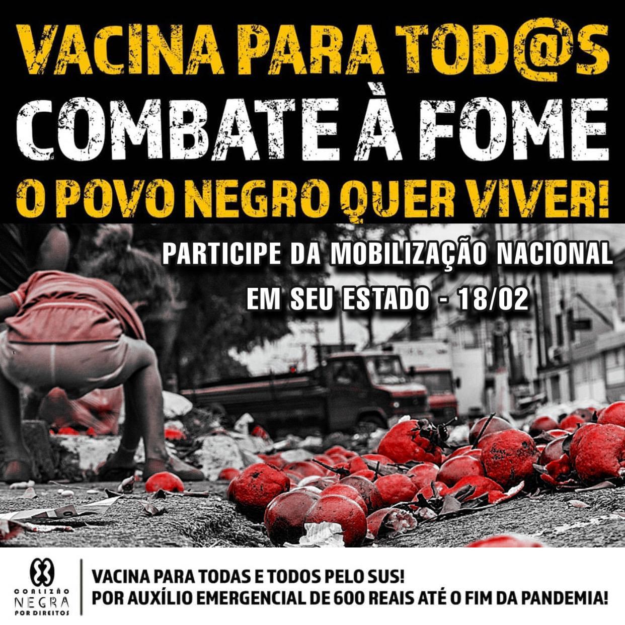 Foto: Divulgação/ Coalização Negra Por Direitos