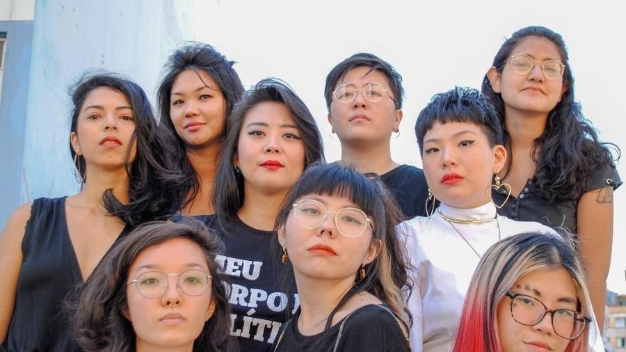 O coletivo Lótus Feminismo é provavelmente um dos primeiros grupos a discutir feminismo asiático no Brasil (Foto: Reprodução/Instagram)