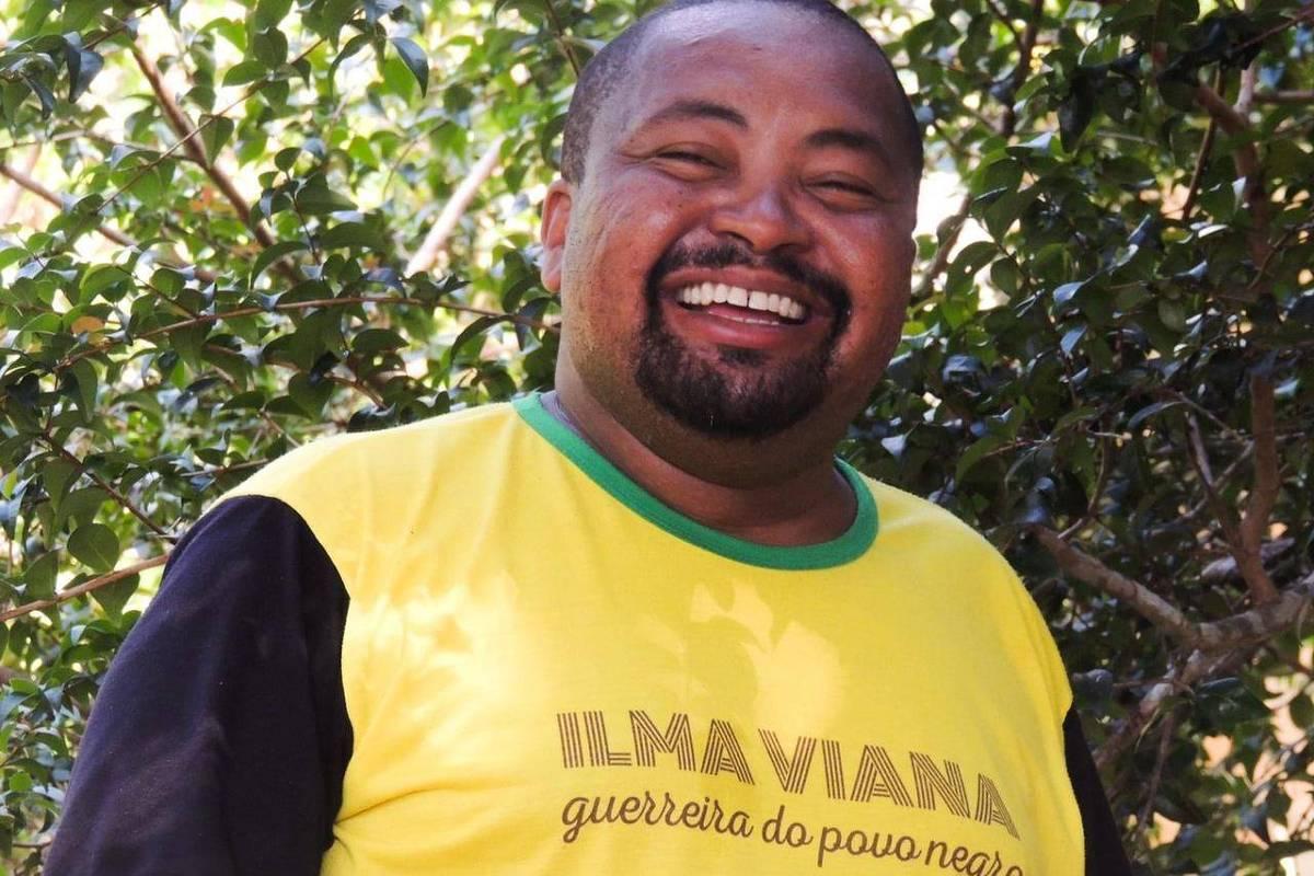 Lula Rocha, expoente do movimento negro do Espírito Santo - Arquivo pessoal