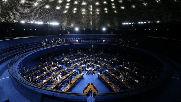 Visão geral do Senado  (Foto: Adriano Machado/Reuters)