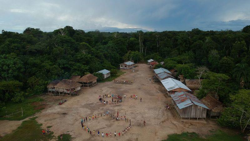 Em carta, indígenas brasileiros dizem querer ser incluídos em qualquer debate promovido pelos EUA para negociação sobre o meio ambiente do Brasil, sem a intermediação da administração de Jair Bolsonaro (Foto: BRUNO KELLY/AMAZÔNIA REAL)