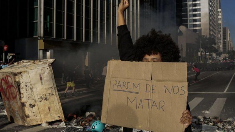 A população negra é a maior vítima da violência no Brasil (Getty Images)