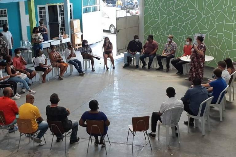 Reunião da Secretaria da Juventude Carioca, criada pelo prefeito Eduardo Paes (DEM) - PerifaConnection
