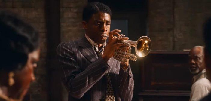 """Por seu trabalho em """"A Voz Suprema do Blues"""", Chadwick Boseman foi indicado postumamente ao prêmio de melhor ator nesta edição do Oscar. Foto: Reprodução"""