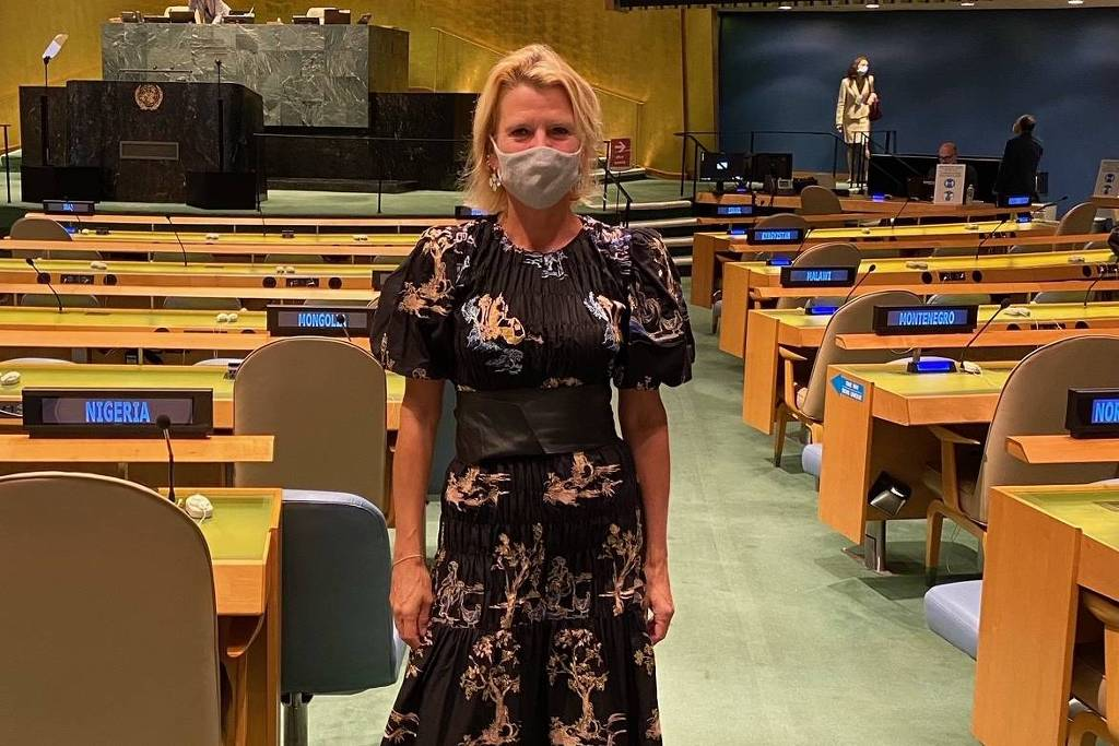A secretária-adjunta da ONU Mulheres, Asa Regner, ex-ministra da Igualdade de Gênero da Suécia (Foto: Arquivo pessoal/Reprodução)