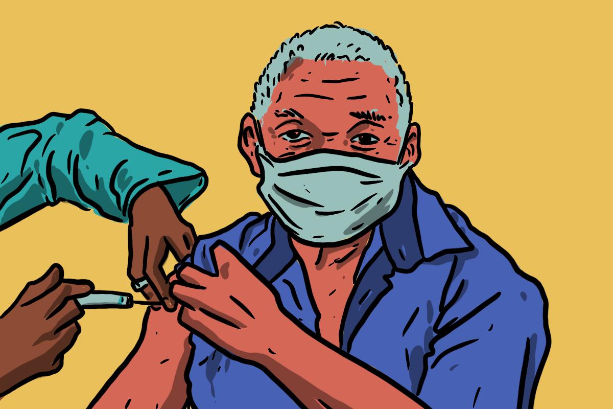 Vacinação completou dois meses em São Paulo | Magno Borges/Agência Mural