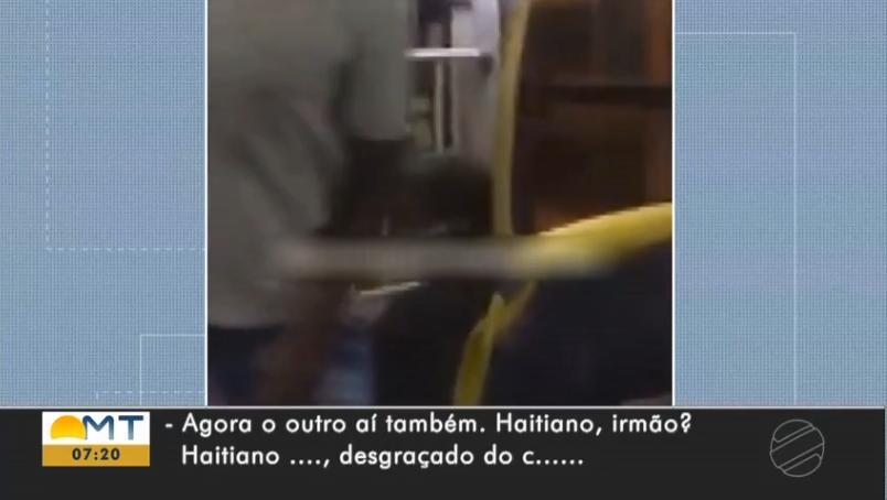 Frame do vídeo (Reprodução/TV Centro América/G1)