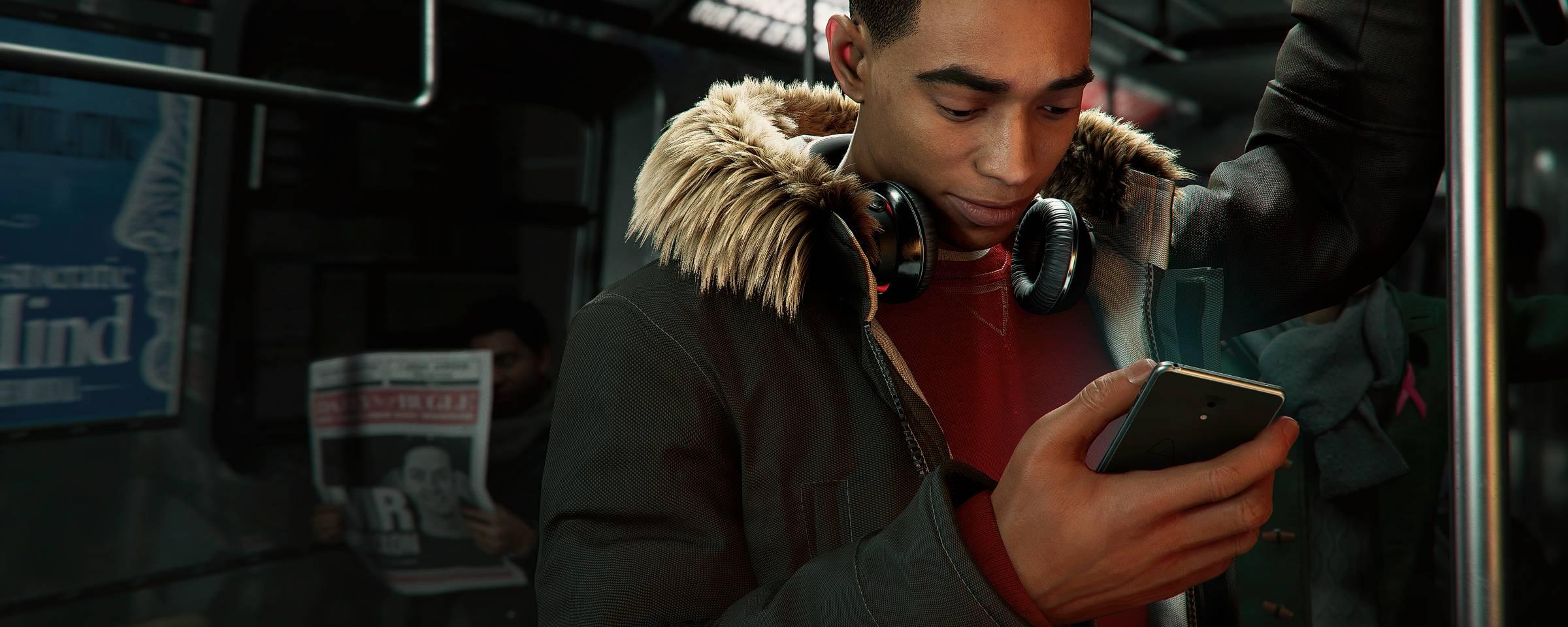 Cena do game 'Spider Man: Miles Morales' Divulgação/Marvel