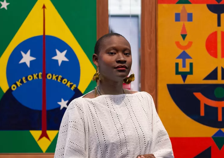 Hanayrá Negreiros, de 29 anos, foi anunciada neste mês como a nova curadora adjunta de Moda no Masp (Museu de Arte de São Paulo) (Foto: LenoTaborda/Divulgação)