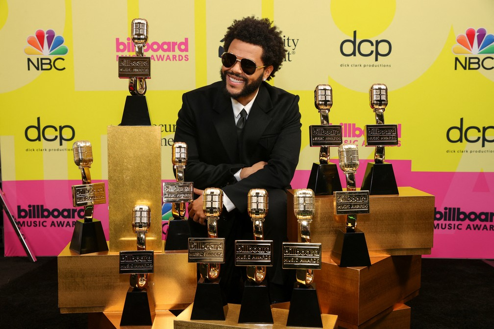 The Weeknd vence dez categorias no Billboard Music Awards 2021 (Foto: Rich Fury / GETTY IMAGES NORTH AMERICA / Getty Images via AFP)