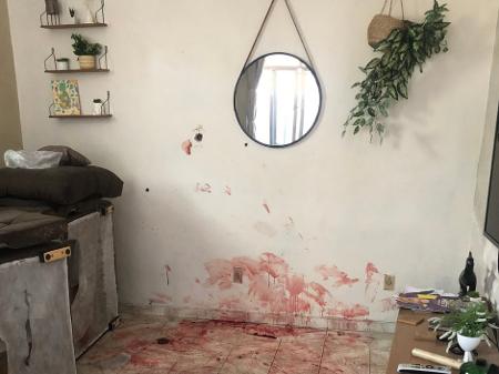 Casa no Jacarezinho, após operação policial que matou 25 pessoas (Imagem: OAB)