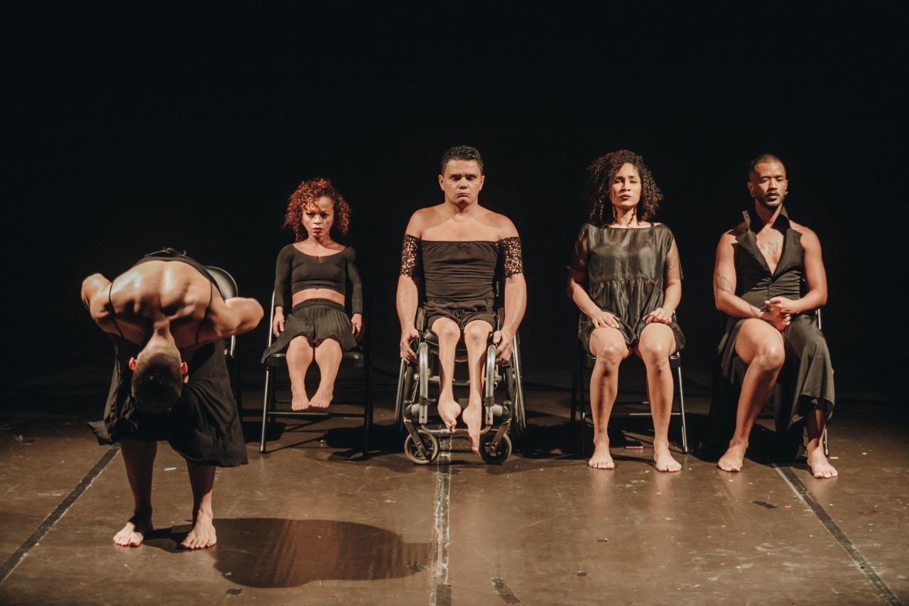 Espetáculo Maré (Foto: Brunno Martins)