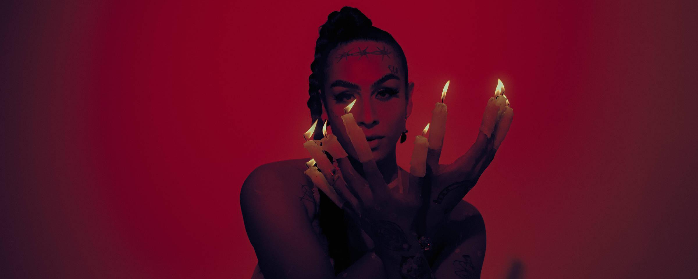 A artista Linn da Quebrada, que lança no álbum 'Trava Línguas' (Foto: Divulgação)