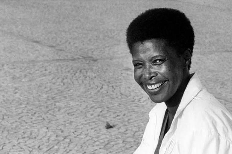 A historiadora e ativista antirracista Beatriz Nascimento, no documentário 'Ori' - Reprodução/Folha de S. Paulo
