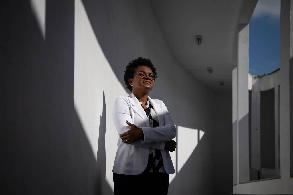 Luanda Moraes, da Uezo, uma das poucas reitoras negras de universidades públicas no país - Zo Guimarães/Folhapress